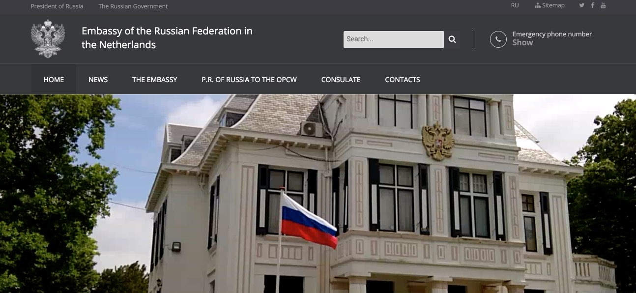Embassy of the Russian Federation in the Netherlands